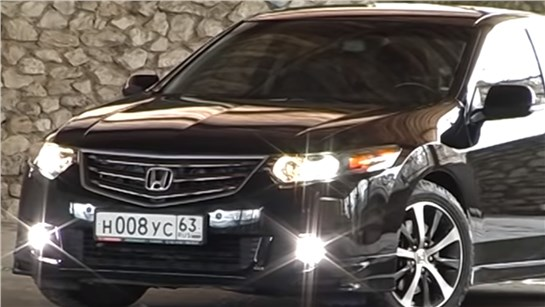 Анонс видео-теста Тест-драйв Honda Accord 2.4 AT, на автомате!
