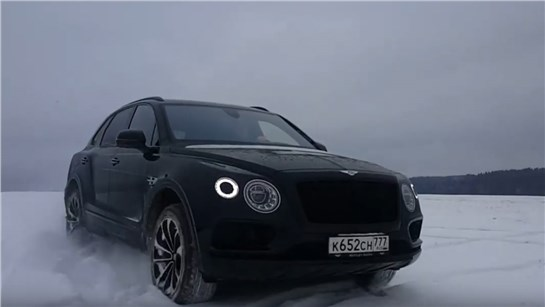 Анонс видео-теста Bentley Bentayga - черная и злая!