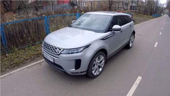 Анонс видео-теста Взял Range Rover Evoque 2 - I like it*